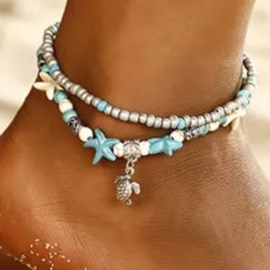 Jewelry - ANKLET (DOUBLE  ROW);